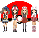 PKMN girls - Designed for VP by shadowjess