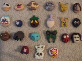 Majora's Mask...Masks by matilda-caboose