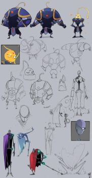 Bot Concepts. by Endling