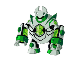 Ben 10K Biomnitrix fusion - Atomiclock by TheRedJoker351