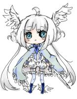 {closed} Chibi Angel Warrior Adoptable by maributt