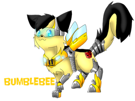 Bumblebee kitty by Mari-Kyomo