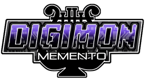 Digimon Memento Logo by FlyKiwiFly