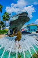 Stingray Fountain by jeffcrass