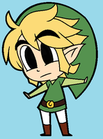 Chibi Link! by Scourgey-ouo