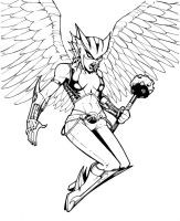 Hawkgirl by olivernome
