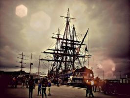 Pirateship at Den Helder by michelleable