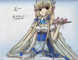 AT: Chii - Chobits by BlackLeatheredOokami