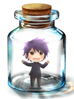 Sag in a bottle by iFrozen-Memories