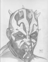 Darth Maul by Justin1592