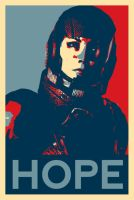 Shepard 'Hope' Campaign poster. by slygirl95