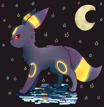 Umbreon by lilwinry121