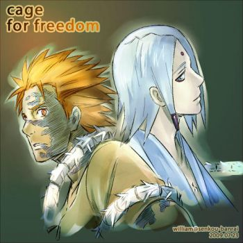 Cage for Freedom by kaffe-shachor