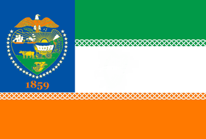 Oregon State Flag Proposal No. 4a By: S.R. Barlow by DesertStormVet