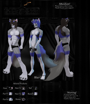 3D Model ~Cave Wolf by iceyfoxx
