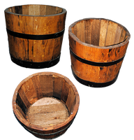 Wooden Bucket by Elsapret