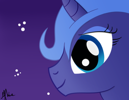 Not so Luna... by FuRRoRo