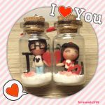 Relationship Bottle Charm by Brownie314