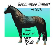 Super Rare Mutation Import ART AUCTION by ReeseS8