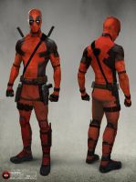 Deadpool Movie - Final - Costume Design by joshuathejames