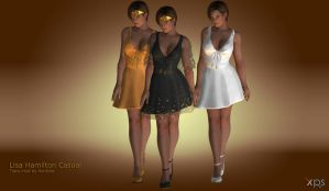 Lisa Hamilton Casual Tiara mod for XPS by RonDoe