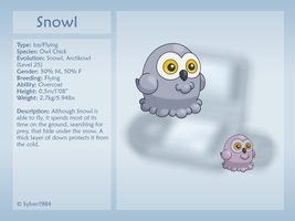 Snowl by sylver1984