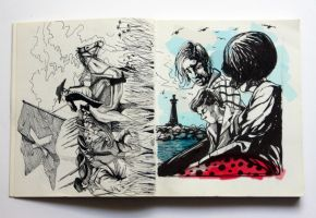 Sketchbook No.4 by Kesoglu