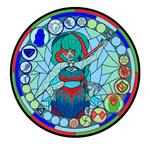 Stained Glass Eilatite by JoKuLFrOsTiGuArDiAn