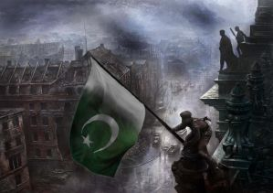 Flag of our fathers - Pakistan by PakPolaris