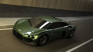 1999 Bentley Hunaudieres Concept by melkorius
