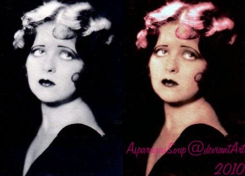Clara Bow colorization v1.0 by AsparagusSoup
