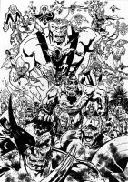 Marvel Zombies by tomcrielly