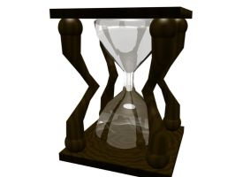 Blender Hourglass Model by Philis3D-Stock