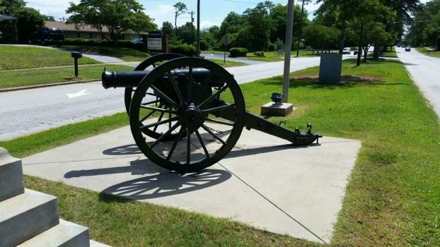 War Between the States Era Cannon by OddGarfield