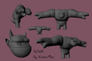 Goliath: The Model by VortexMax