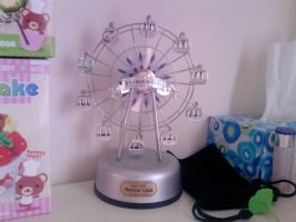 Musical Ferris Wheel by carmietee