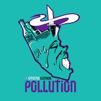 Pollution T-Shirt Design by JohnVichlenski