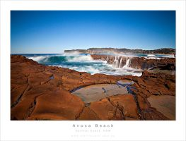 Avoca beach, Long Exp by MattLauder