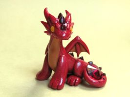 Ruby Red Dragon by DragonsAndBeasties