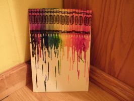 Melted Crayons by AcrossTheBeatleverse