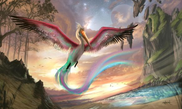 Birds of Paradise by d1eselx
