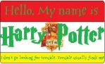 Harry Potter's Nametag by HuntressxTimeLady