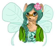 Zyneira The Faerie Xweetok by Blesses