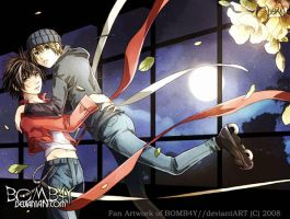 AIR GEAR: IkkiXKazu: RWCNDRLLA by BOMB4Y