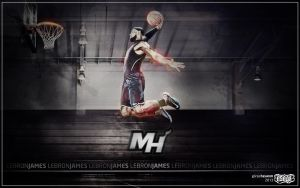 LeBron James Wallpaper by EsegaGraphic