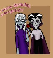 Happy Birthday, Jokergirl129 by TiElGar
