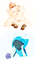 Tired Dofus cuties by Sultastic