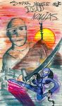 Super House of Dead Ninja's: Crayon Edition by hammer-and-anvil