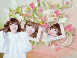 Wallpaper Hyosung ( Secret ) by chanyunsociupark