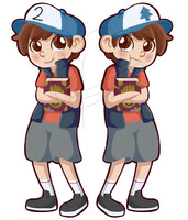 Dipper and Tyrone by MC--ClapYoHandz